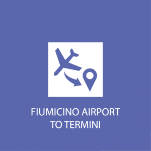 Rome transportation fiumicino to termini