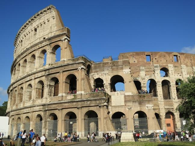 The Colosseum Rome Most Famous Building Of Roman Empire